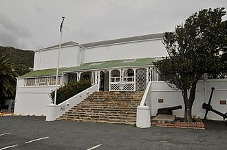Joachim van Plettenberg - The Residency, erected by Plettenberg in Simon's Town