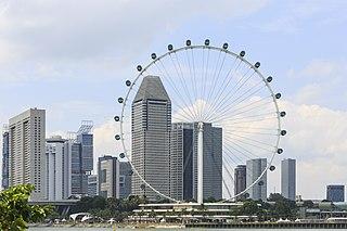 Singapore Flyer Ferris wheel in Singapore