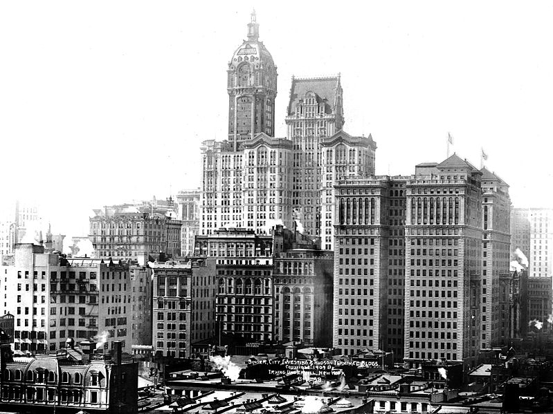 File:Singer City Investing Hudson Terminal 1909 crop.jpg