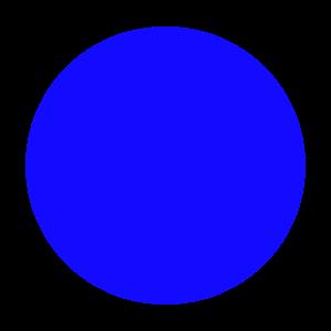 Kanin-Sella Nevea Ski Resort - Image: Ski trail rating symbol blue circle