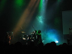 Skinny Puppy al London Astoria nel 2005