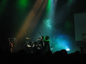 Skinny Puppy live at London Astoria, August 10 2005 4.jpg