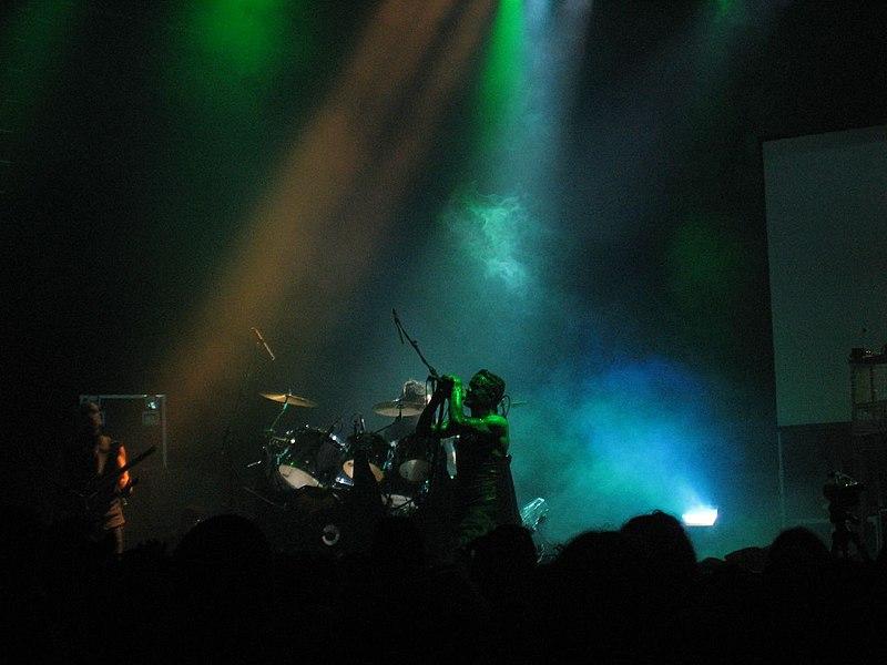 Skinny Puppy live at London Astoria, August 10 2005 4.jpg