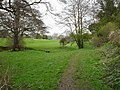 Skirting the golf course - geograph.org.uk - 1256420.jpg