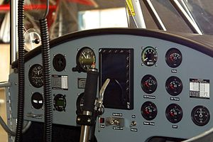 Best Off Skyranger - Skyranger cockpit with optional extended panel
