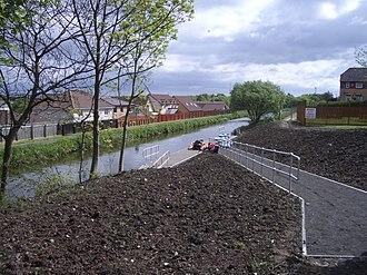 Redding, Falkirk - Image: Slipway at Redding geograph.org.uk 176568