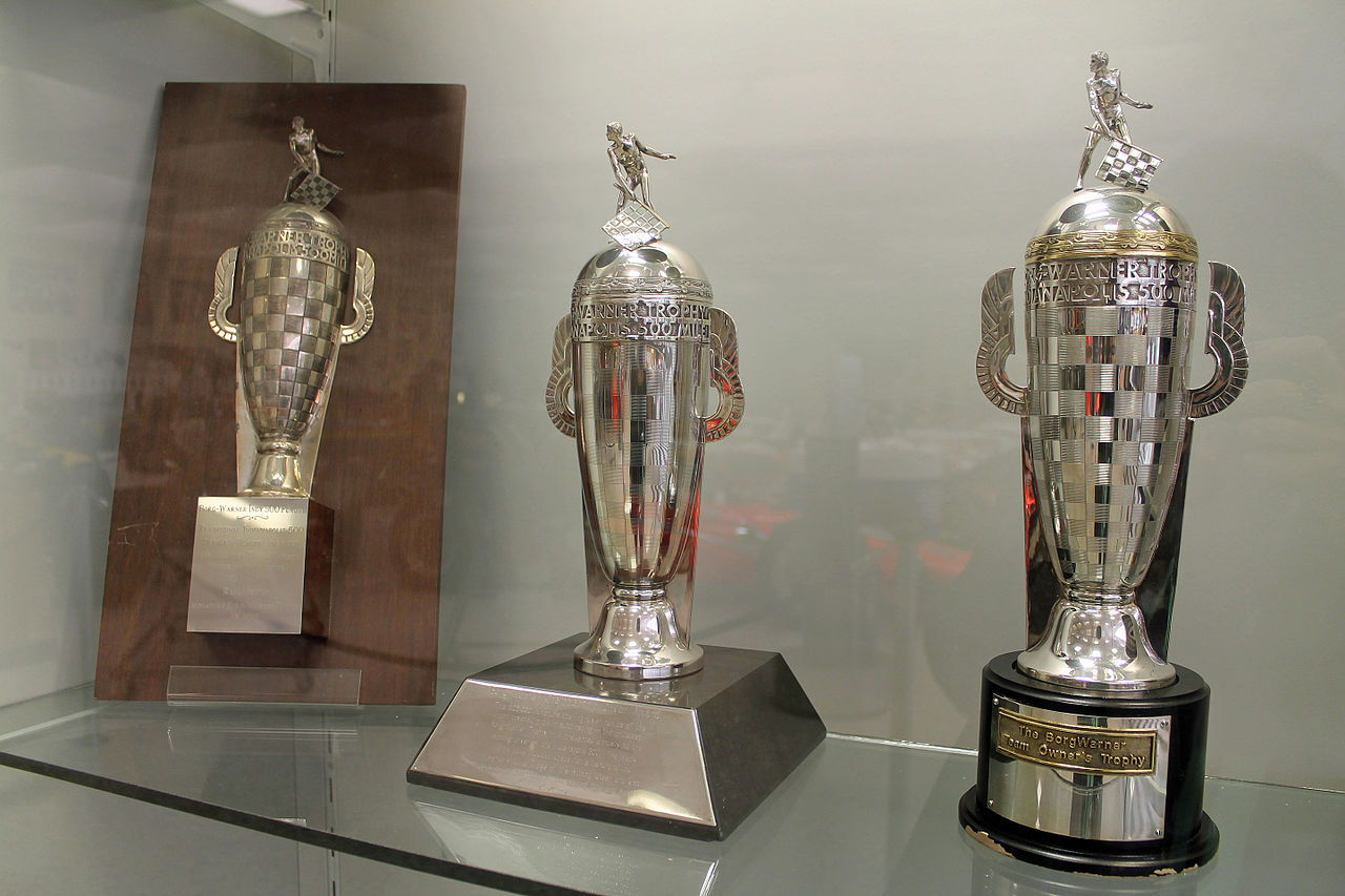 File Small Borg Warner Trophies Indianapolis Motor
