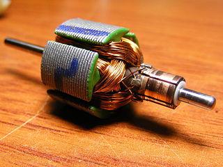 Moteur électrique à courant continu - crédits Jjmontero9, Wikimedia commons