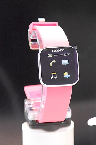 "Sony SmartWatch - The original ""MN2"" Sony SmartWatch from 2012"