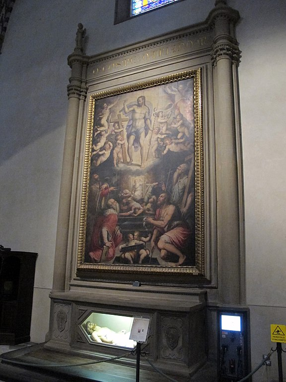 File Smn Navata Sx Giorgio Vasari Resurrezione Di