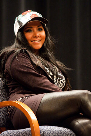 """Nicole """"Snooki"""" Polizzi at an appear..."""