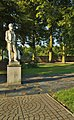 Socha Františka Palackého v areálu lázní, Slatinice, okres Olomouc.jpg
