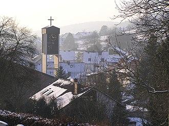 Sulzbach am Main - Image: Soden Kirche im Winter