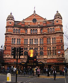 Soho palace theatre 1