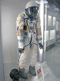 A KV 2 Variant Of The Sokol Space Suit Displayed At Technik Museum Speyer Germany 2008