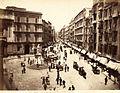 Sommer, Giorgio (1834-1914) - n. 103 - Napoli - via Roma (Monumento a Carlo Poerio).jpg