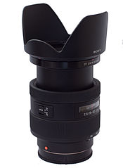 Sony DT 16-50mm F2.8 SSM at 50mm with hood.jpg