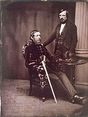 Southworth and Hawes Portrait of Lajos Kossuth and Ferenc Pulszky 1852.jpg