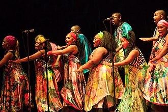 Soweto Gospel Choir - the choir in Graz, Austria (2014)