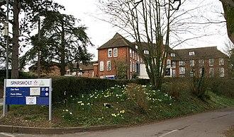 Sparsholt College - Image: Sparsholt College Hampshire