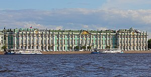 Hermitage Museum - View of the Winter Palace building