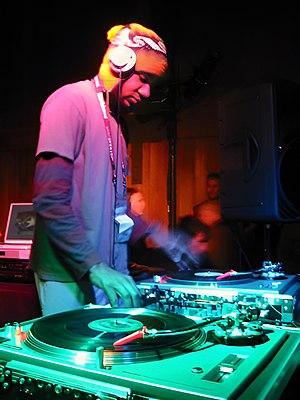 DJ Spooky at the Sundance Film Festival, 2003....