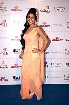 Sreeji de colors indian telly awards.jpg