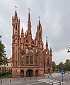 St. Anne's Church Exterior 2, Vilnius, Lithuania - Diliff.jpg