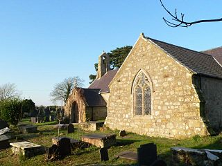 St Beunos Church, Trefdraeth Church in Wales, UK