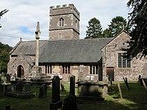 St. Teilo church, Llantilio Pertholey - geograph.org.uk - 216212.jpg