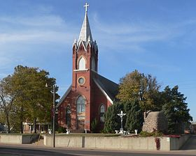 St. Wenceslaus complex (Tabor, South Dakota) from SE 1.jpg