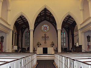 St. Paul's Episcopal Church (Alexandria, Virginia) - St. Paul's Church Interior, 2008