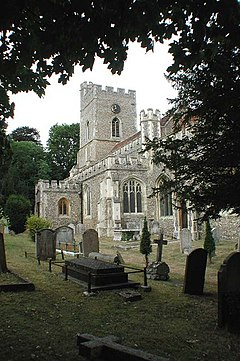 St Andrew and St Mary, Watton-at-Stone, Herts - geograph.org.uk - 356508.jpg