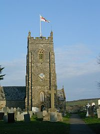 St Calixtus Church West Down - geograph.org.uk - 177932.jpg