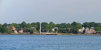 St. Clair, Michigan - View from across the St. Clair River