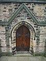 St Cuthbert's Church, Darwen, Doorway - geograph.org.uk - 922382.jpg
