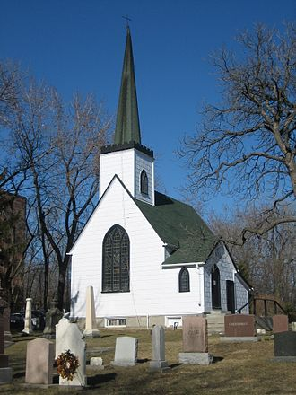 Wexford, Toronto - The Church of St. Jude was built in 1848.
