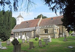 Grade II* listed buildings in Broxbourne (borough) - Image: St Laurence, Wormley, Herts geograph.org.uk 472894
