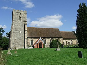 Edwardstone - Image: St Mary's Church, Edwardstone, Suffolk from the south