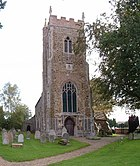 St Mary's Church at West Winch - geograph.org.uk - 255412.jpg