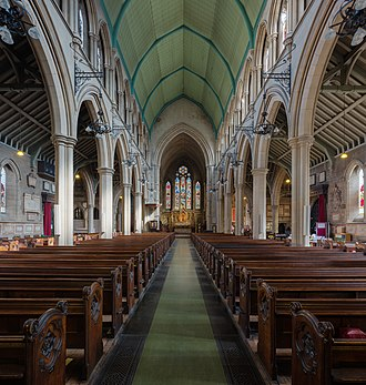 St Mary Abbots - Image: St Mary Abbots Church nave, Kensington, London, UK Diliff