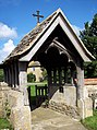 St Mary Magdalene, South Marston - Lych Gate - geograph.org.uk - 496595.jpg