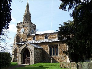 Burrough on the Hill - Burrough on the Hill parish church of St. Mary