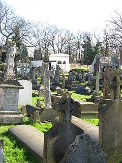 St Marys Catholic Cemetery, Kensal Green