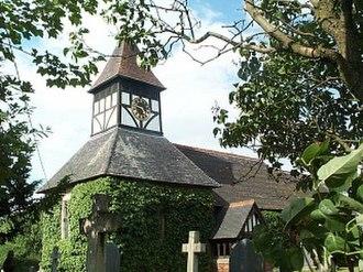 Harlaston - Image: St Matthew, Harlaston