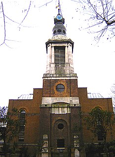 St Annes Church, Soho Church in London