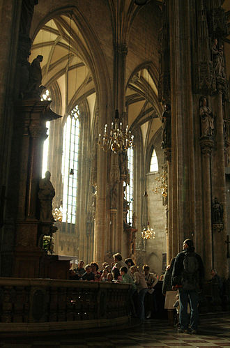 Arnold von Bruck - Bruck worked at the Stephansdom in Vienna, Austria, and wrote music for the chapel choir in the 1540s.