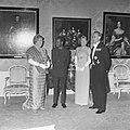 Staatsbezoek president Nyerere van Tanzania, gala-diner op Huis ten Bosch v.l.n., Bestanddeelnr 917-6732.jpg