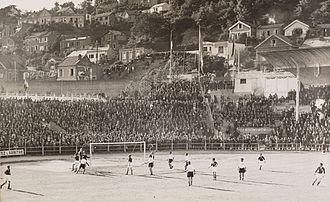 Stade Jules Deschaseaux - Stade municipal du Havre (now Stade Jules-Deschaseaux) during 1938 FIFA World Cup