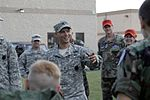 "Staff Sgt. Joseph Tremblay tells Pennsylvania Wing Civil Air Patrol cadets that they need to yell ""AIRBORNE!,"".jpg"